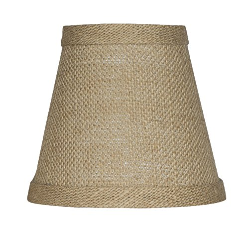 "Urbanest 11001419 Chandelier Lamp Shade 3x5x4.5"", Hardback,"