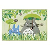 (Green My Neighbor Totoro bath mat