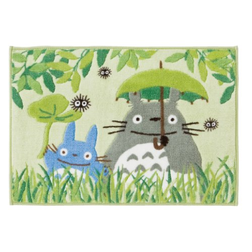 (Green My Neighbor Totoro bath mat by Senko