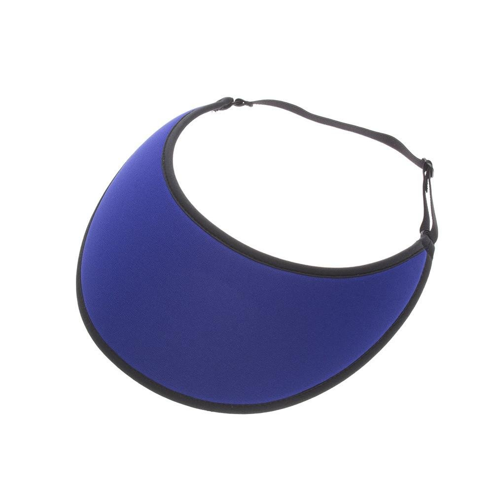 No Headache Lites Royal Blue Adjustable Visor