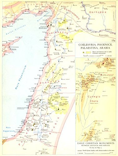 Amazon.com: CHRISTIANITY. Coelesyria, Phoenice, Palaestina, Arabia ...