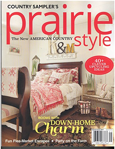 Country Sampler 39 S Prairie Style Magazine Winter 2017 For Sale Cheap