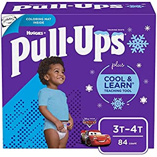 Pull-Ups Cool & Learn Boys' Training Pants, 3T-4T, 84 Ct