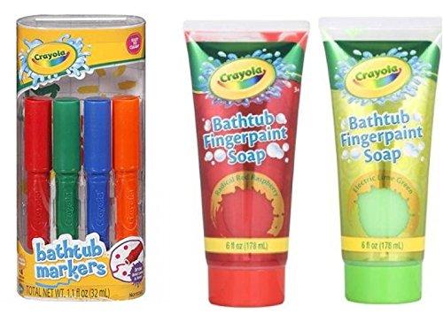Crayola Bathtub Markers count Fingerpaint