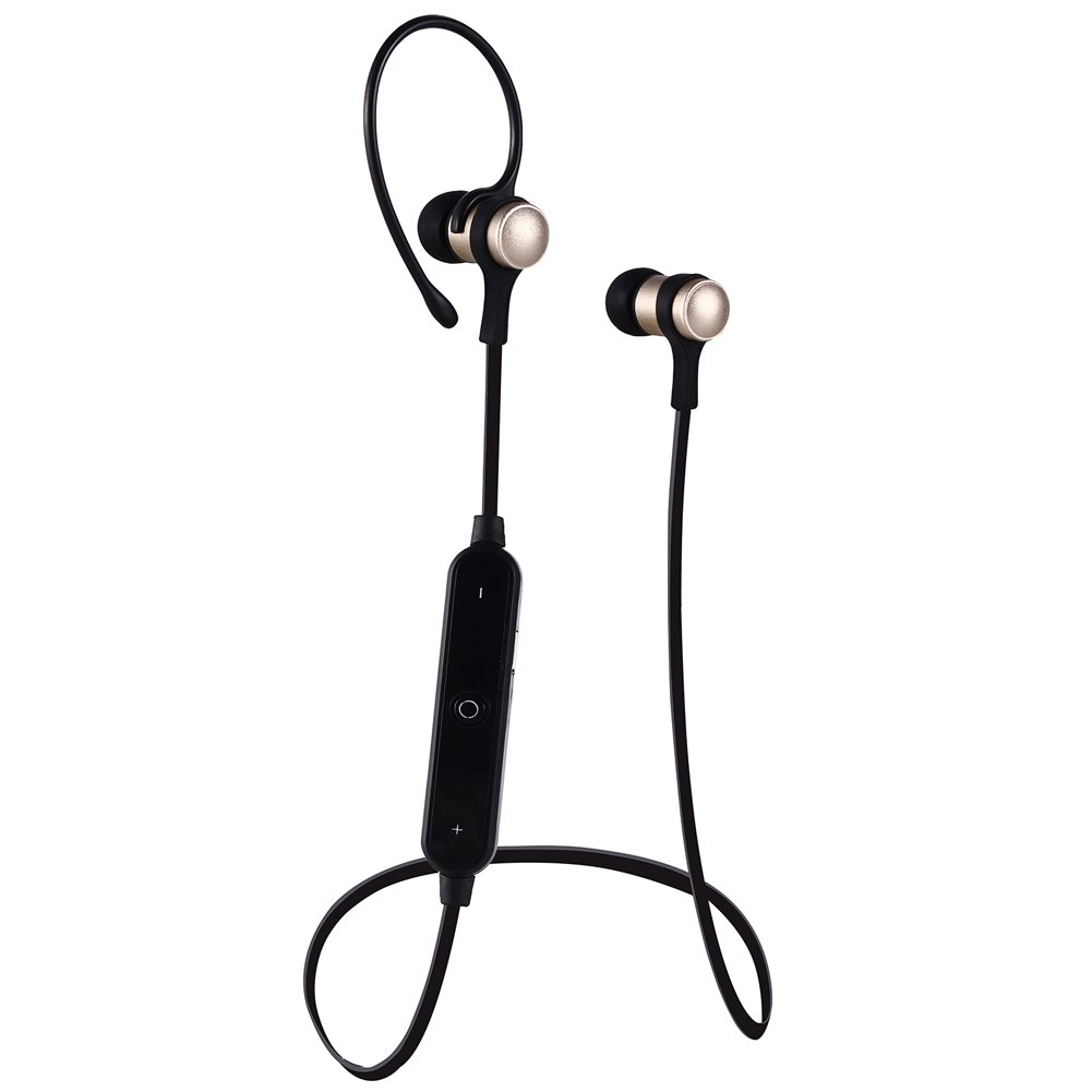 Amazon.com: Qjoy Wireless Bluetooth Earphone Auricular Metal Headset with Mic for iPhone 7 Plus HUAWEI Mate 9: Sports & Outdoors