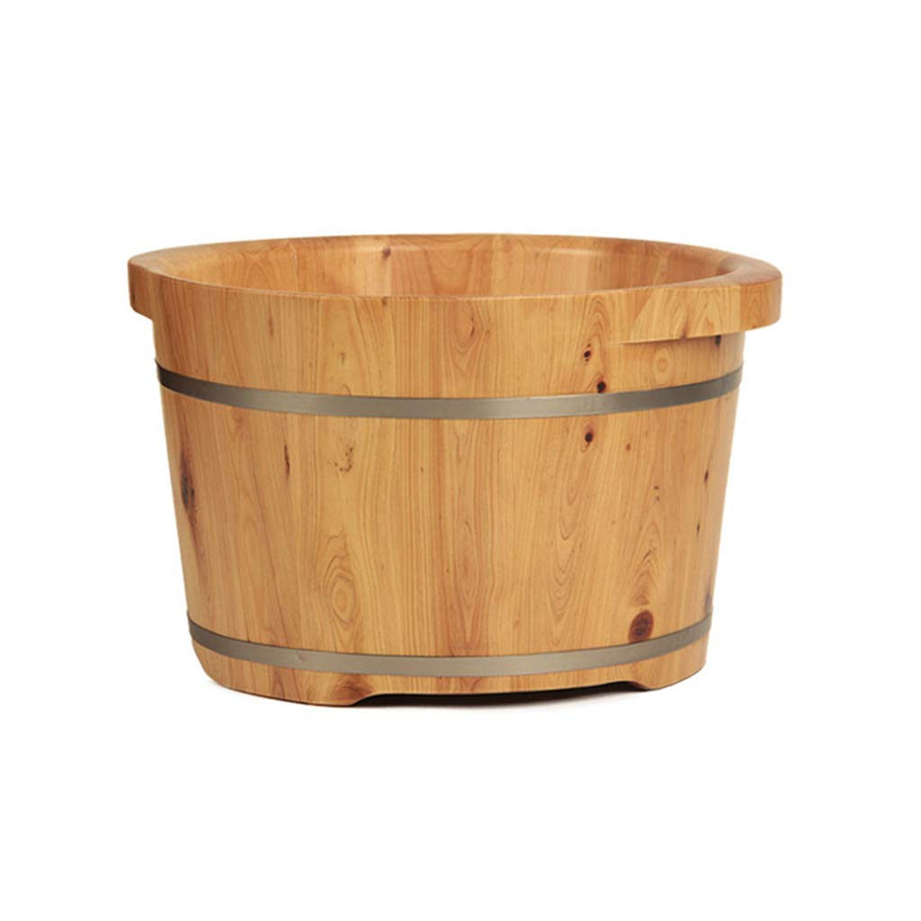 LIZHIQIANG 純木製の足浴槽 :、シーダーフットバスバレル、ペディキュアボールスパマッサージシーダーペディキュアバレル、滑らかで繊細なペディキュアバレル 42cm*36cm)、2サイズ B07MFQ953L (サイズ さいず : 42cm*36cm) B07MFQ953L 42cm*26cm 42cm*26cm, インテリア つるや:b6323687 --- lembahbougenville.com