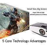 Projection 300inch Screen Top Quality ! Full HD 5500ANSI Lumens 3D Ultra Short throw HDMI Beamer 1080P XGA Video Digital Education DLP Projector proyector