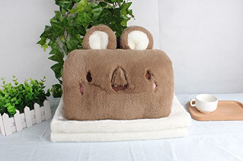 HOMEE the Office of the Afternoon Nap Pillows Lovely Cartoon Cats Mimi Warm Hand over Pillow Cushion Hand Warmers Po to Meddle in Pillow Hand Warmers, Green Eye,Card their koalas (Bamboo Response Card)
