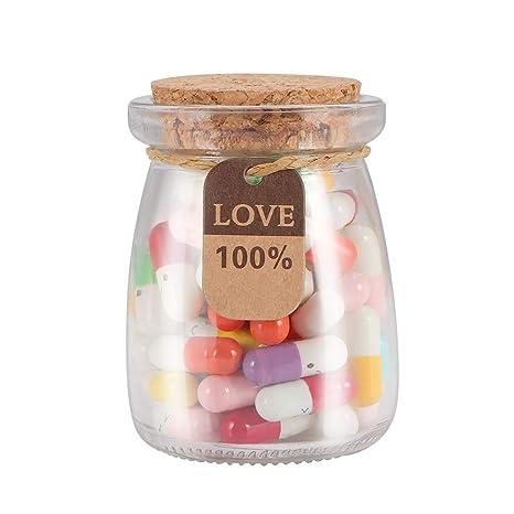 ONEVER En forma de píldora encantadora de 100 piezas, ONEVER ...
