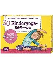 30 Kinderyoga-Bildkarten: Übungen und Reime für kleine Yogis (Körperarbeit und innere Balance)