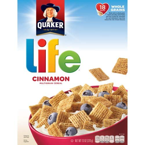 (Life Cinnamon Cereal (Pack of 10))