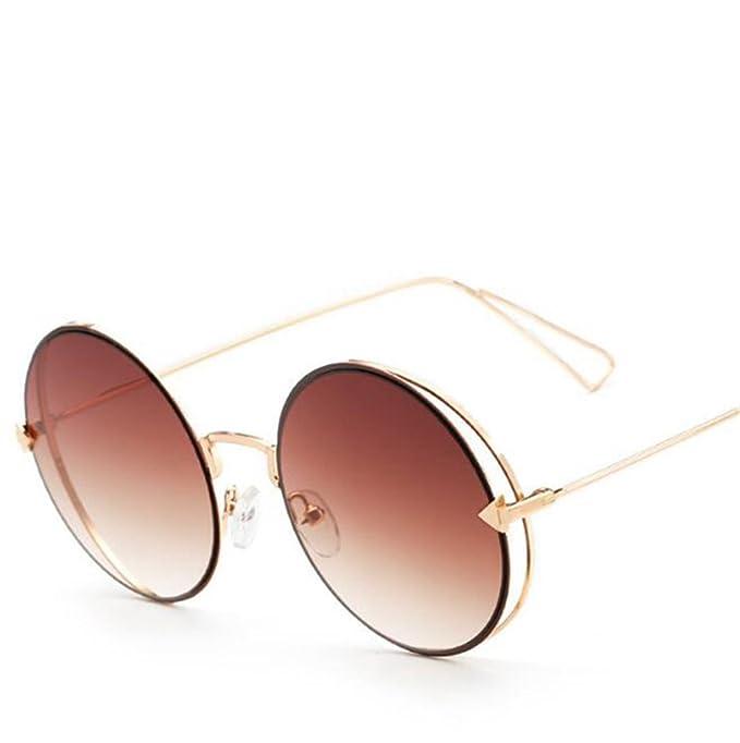 Wmshpeds Cornice rotonda film colore occhiali da sole, Europa e gli Stati Uniti trend, occhiali da sole, freccia occhiali da sole