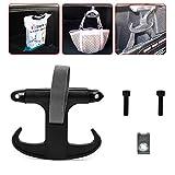 CALAP STORE Black Portable Car Trunk Bag Cargo Hook Hanger Holder For VW Passat Jetta Audi A4 Volkswagen
