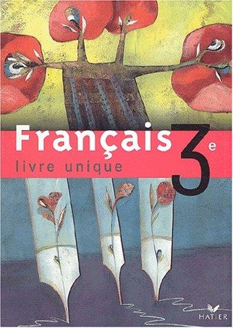 Telecharger Livre Unique Francais 3e Manuel Pdf De
