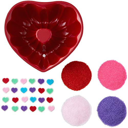 Wilton Heart-Shaped Tube Cake Baking and Decorating Set, 3-Piece - Cake Set Tube Decorating