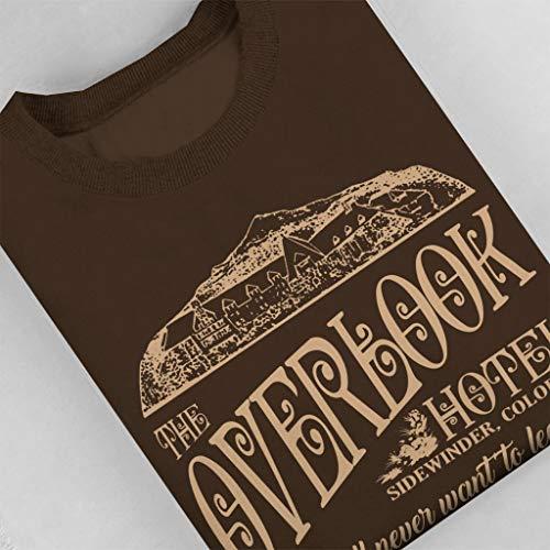 Chocolat Men's Colorado Hotel The Shining Sweatshirt City Overlook 7 Cloud ZP4qz4