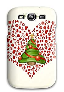 Galaxy S3 Case Cover Skin : Premium High Quality Merry Xmas Case