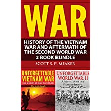 War: History of the Vietnam War and Aftermath of the Second World War - 2 Book Bundle