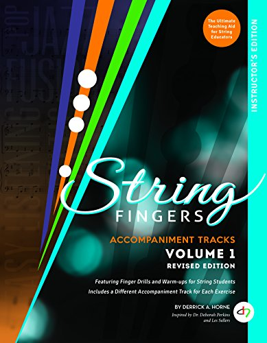 String Fingers Accompaniment Tracks Volume 1 (revised instructor ed.) with download card ()