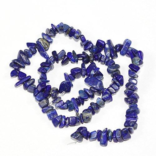 - jennysun2010 Natural Gemstone 4-8mm Chip Beads 32'' - 35'' AAA Lapis Lazuli Hematite Turquoise Malachite Coral 1 Strand for Bracelet Necklace Earrings Jewelry Making Crafts Design Healing