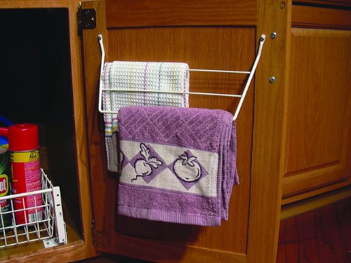 Rev-A-Shelf Towel Holder White