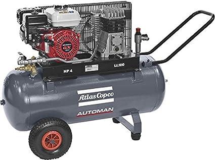 Atlas Copco Compresores y AC 41 - 10 E 90 P kompre. AUTOMAN benzinbe.: Amazon.es: Industria, empresas y ciencia