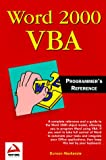 Word 2000 VBA Programmers' Reference