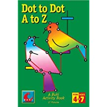Dot to Dot A to Z - Buki activity book made in Israel