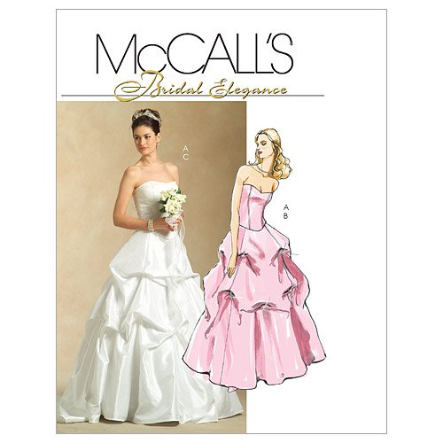 McCall's Patterns M5321 Misses' Lined Top and Skirts, Size AA (6-8-10-12) (Misses Special Occasion Pattern)