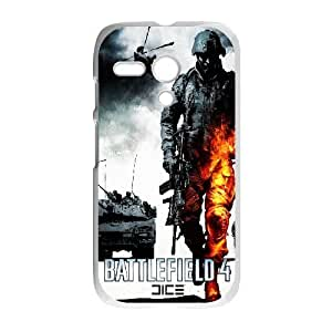 Protection Cover Hgofr Motorola Moto G Cell Phone Case White Battlefield Personalized Durable Cases