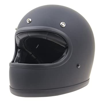 KKmoon Casco Moto Integral ECE Homologado Casco de Moto Scooter Vintage Flying Helmet