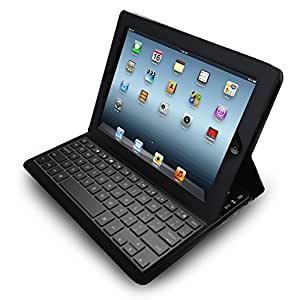 adesso compagno air bluetooth 3 0 scissor switch keyboard and folio case for ipad. Black Bedroom Furniture Sets. Home Design Ideas