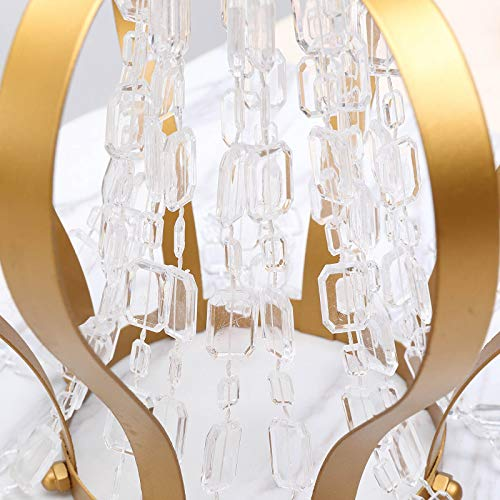 (Tableclothsfactory Endless Diamond Strand 10 Yards Clear Acrylic Diamond Necklace)