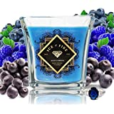 Ice N Fire Bunch O Berries Sterling Silver Ring Candle (Hidden Ring Valued up to $5,000)