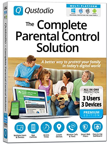 Qustodio: The Complete Parental Control Solution - 3 Users / 3 Devices WIN / MAC / iOS / Android