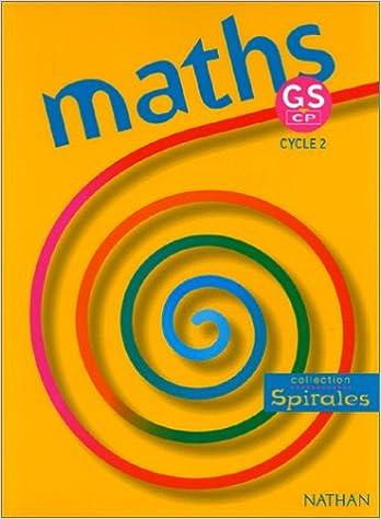 Livre gratuits Maths, grande section, CP. Fichier de l'élève epub pdf
