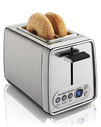 Hamilton Beach Modern Chrome 2-Slice Toaster, Silver (22792)