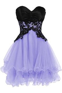 Ellames Sweetheart Bridesmaid Short Prom Homecoming Party Dresses Juniors