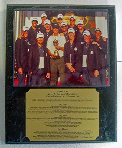 2016 United States US Ryder Cup Champion Team 8x10 Photo Plaque with Engraved Nameplate by GFSF