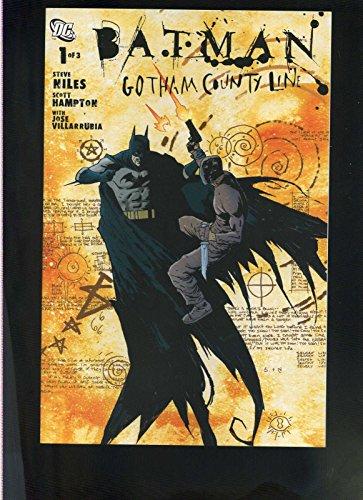 Batman Gotham County Line 1,2,3 complete set run DC Comics Steve Niles NM CBX1L