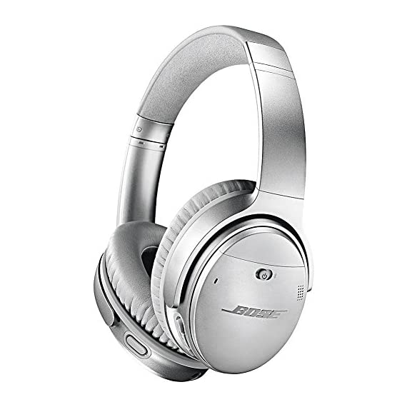 Bose QuietComfort 35 (Series II) Wireless Headphones 1 World-class noise cancellation Bluetooth and NFC pairing with voice prompts Your Google Assistant & Amazon Alexa, built in
