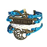 Best Wild Wind Friends Leather Necklaces - Wild Wind (TM) Christmas Unique Braided Bronze Tree Review