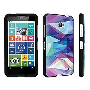 DuroCase ? Nokia Lumia 635 Hard Case Black - (Abstract)