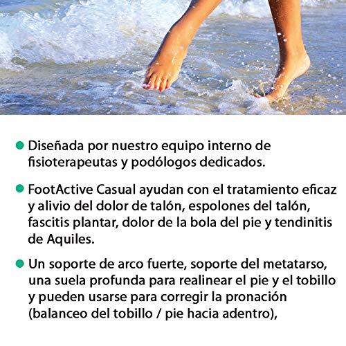 Plantar De Talón Dolor Plantilla Fascitis 3 Rodilla 4 Espalda El Casual Y Longitud Para Footactive Talones qBFwn7zEn