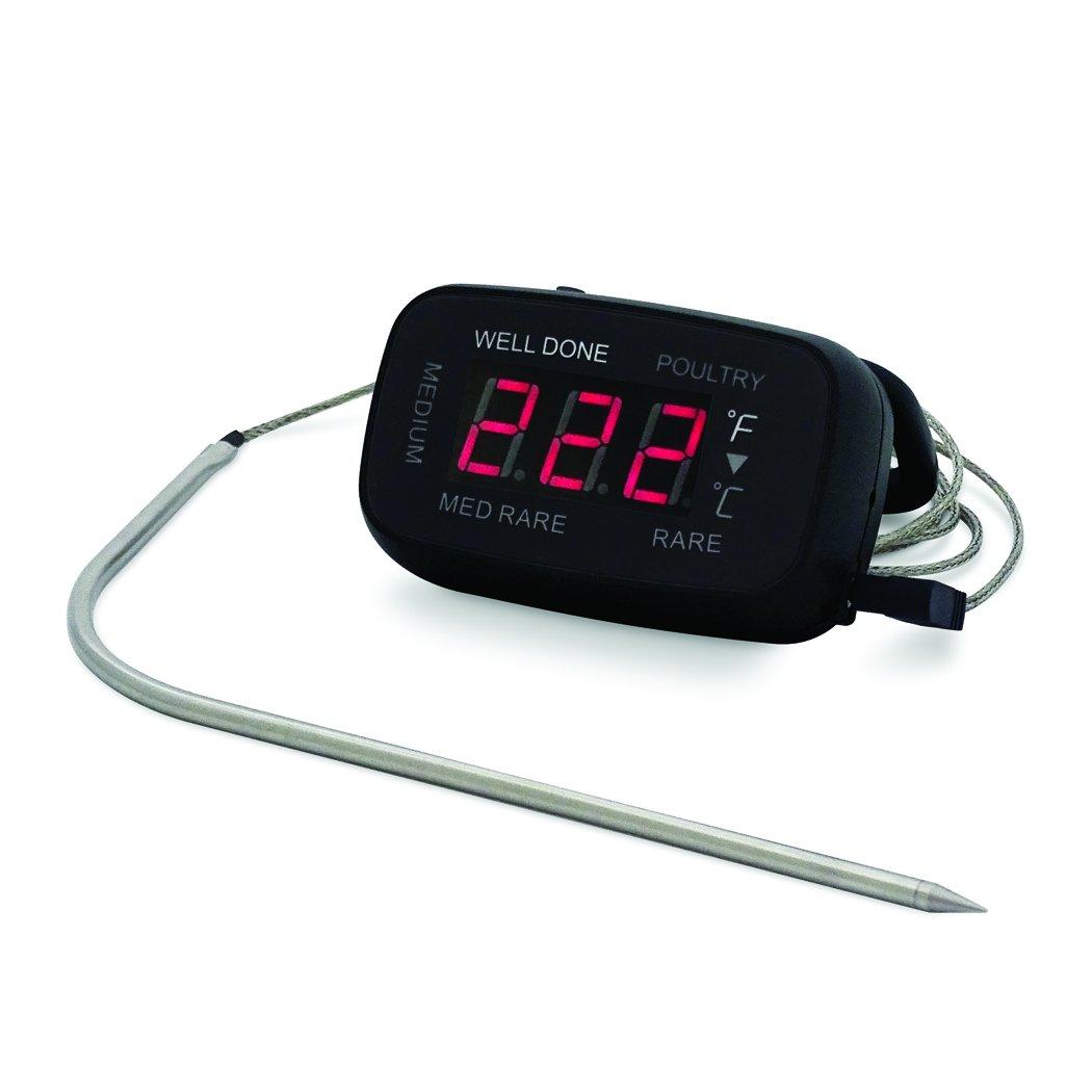 CDN LT392 LED Probe Thermometer/Timer, Black
