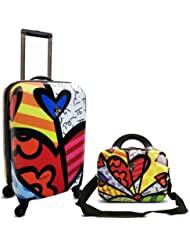 Heys Britto New Day Beauty Case and 22 Cabin luggage 2 pcs set B703-2PC