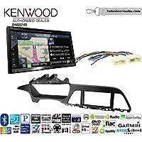 Volunteer Audio Kenwood DNX574S Double Din Radio Install Kit with GPS Navigation Apple CarPlay Android Auto Fits 2015-2017 Hyundai Sonata