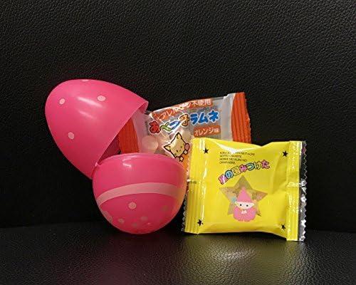 駄菓子入りイースターエッグカップ(大)【100個】/プラスチック製/カラフル/お得
