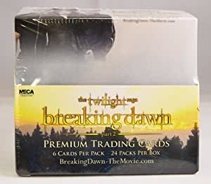 2012 The Twilight Saga Breaking Dawn Part 2 Trading Card Box / 24 Packs