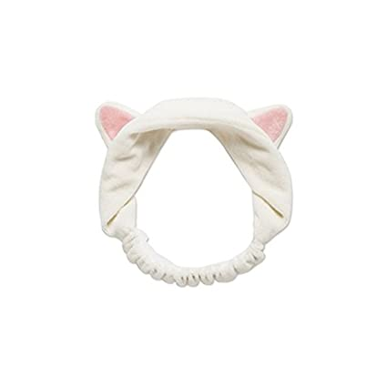 amazon com meolin headband with cat ears makeup headband arts
